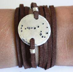 Constellation bracelet, scorpio zodiac bracelet, wrap bracelet, aries, cancer, capricorn, scorpio, aquarius, sagittarius, pisces, stars