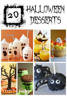 ADORABLE halloween inspired treats