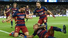 Barcelona boss Luis Enrique launched a staunch defence of his players after they came from behind without the injured Lionel Messi to beat Bayer Leverkusen 2-1 on Tuesday.Goals in the last 10 minutes from Sergi Roberto and Luis Suarez propelled the European champions to the top of Champions