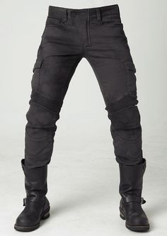 For the past 10 years uglyBROS has been making some of the best and most stylish protective motorcycle gear in America or heck even World and these Motorpool Cargo Motorcycle Pants are no exception…