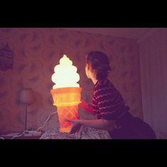 Wish list, ice cream lamp 갖고싶다 아이스크림램프