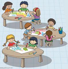 atividades Classroom Rules, School Classroom, Kindergarten, School Clipart, Teaching Aids, Childhood Education, Cartoon Kids, Pre School, Early Childhood