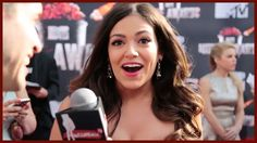 BETHANY MOTA TALKS RED CARPET FASHION at the MTV MOVIE AWARDS!
