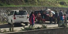 The Royal Bhutan Police has designated the parking space as a pick and drop zone.