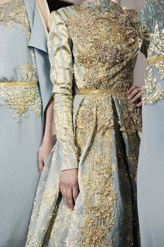Elie Saab - beautiful color and design. High fashion - couture