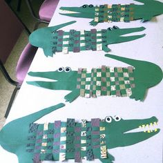 crocodile tissage
