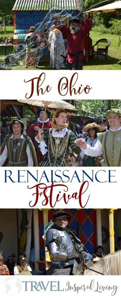 The Ohio Renaissance Festival in Paynesville. Family fun and entertainment for all! #Thingstodoinohio