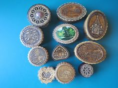 "3"" BOX CHURCH LAKE RUSSIAN ART birch bark trinket ring pill wood beresta | eBay"
