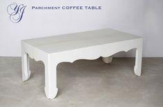 JALLU Parchment Coffee Table