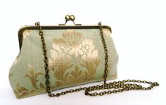 Wedding Clutch Purse Metallic Design Clutch Purse by TheHeartLabel, £34.72