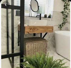 Floating Bathroom Sink, Bathroom Vanity Units, Rustic Bathroom Vanities, Small Bathroom Vanities, Floating Vanity, Vanity Sink, Bathroom Ideas, Bathroom Inspo, Light Bathroom
