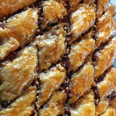 Homemade Baklava for our Wine Tasting party
