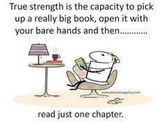 True strength.