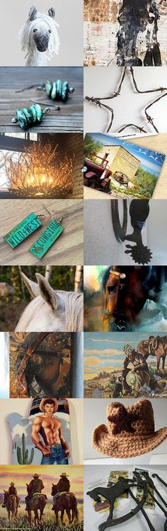 Wild Wild West by Margie on Etsy--Pinned+with+TreasuryPin.com