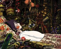 ghibli bedroom at DuckDuckGo Hayao Miyazaki, Howl's Moving Castle, Film Animation Japonais, Animation 3d, Manga Anime, Anime Art, Howl And Sophie, The Cat Returns, Accel World