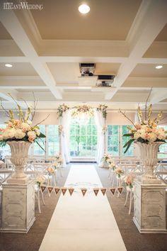 INDOOR SECRET GARDEN WEDDING   Elegant Wedding