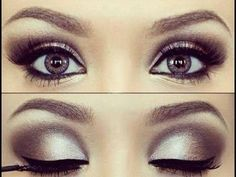 ✓ Maquillaje de Ojos Paso a Paso ✓ Ojos Ahumados - YouTube