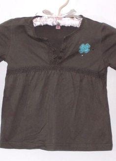 À vendre sur #vintedfrance ! http://www.vinted.fr/mode-enfants/filles-chemises-et-t-shirts/24105746-t-shirt-manches-longues-kaki-4-ans