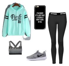 Casual by emilyb321 on Polyvore featuring polyvore, fashion, style, Ivy Park, Topshop, Casetify and clothing