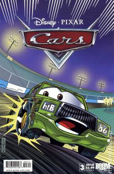 Cars (2009 2nd Series Boom Studios) #3 disney pixar cover comics