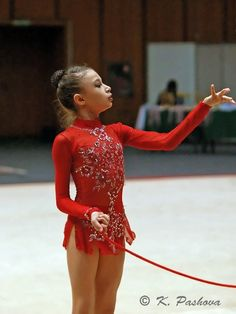Rhythmic Gymnastics Leotard SOLD. $295.00, via Etsy.