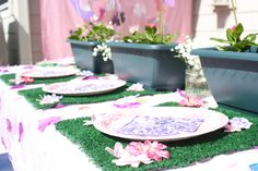 "Photo 13 of 50: Fairy Garden Party / Birthday ""Paisley's Fairy Garden Birthday Party"" 