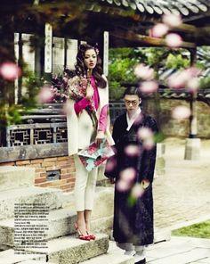 What a Wonderful Day I Vogue Girl Korea I February 2012 I Photographer: Zoo Yong Gyun I Editor: Ryu Mi-young I Models: Choi Ah-ra, Ahn Jae-hyun.