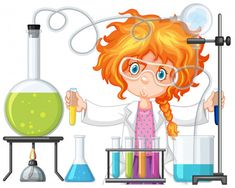 Scientist doing experiment in science lab Free Vector Kid Science, Science Party, Science Classroom, Science Activities, Science Experiments, Classroom Decor, Science Labs, Elementary Science, Physical Science