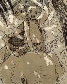 Gon & Killua | Hunter x Hunter | 烏鴨 [pixiv] | Link: http://www.pixiv.net/member_illust.php?mode=medium&illust_id=42936167