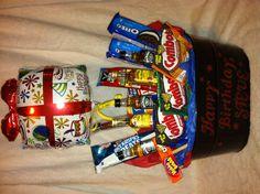 Birthday gift basket (for him)