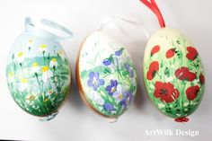 Easter Eggs – Easter eggs, hand painted – a unique product by ArtWilk on DaWanda