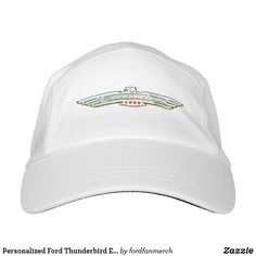 Personalized Ford Thunderbird Emblem / Logo Headsweats Hat #zazzle #mrtbird #thunderbird #fordclassiccars #1950s #classiccars #giftsformen