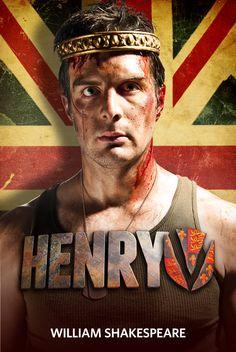 HENRY V (2012): John Tufts as Henry V.  Photo by Jenny Graham.