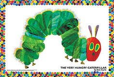 Eric Carle - The Very Hungry Caterpillar (Large Piece) 108 Piece Jigsaw Puzzle featured on Jzool.com