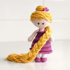 What a lovely project uploaded in our LoveKnitting Community - upload your projects and share them with other makers! Rapunzel crochet project by Lisa Maree