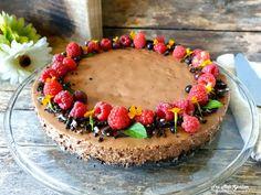 Sjokolademoussekake - Fra mitt kjøkken Frisk, Baking, Acai Bowl, Mousse, Breakfast, Desserts, Food, Acai Berry Bowl, Morning Coffee