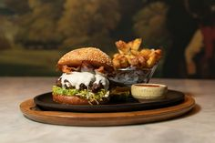 Bazaar Meat by José Andrés at Sahara Las Vegas Launches New Specials and Wagyu and Brisket Burger · EDGe Vegas Brisket Burger, Homemade Buns, Las Vegas Restaurants, White Sangria, Drink Specials, Short Ribs, Appetizers, Product Launch, Meat