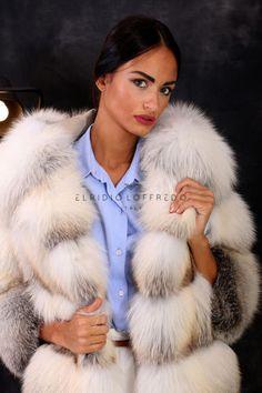 08bda006266b4 La fourrure manteau de fourrure veste Milano Fashion renard manteau fur  coat fox Volpe лиса шуба