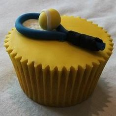 Image result for tennis cupcakes