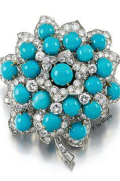 Diamond and Turquoise