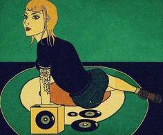 old spirit 69 Skinhead Reggae, Skinhead Girl, Vinyl Cd, Music Illustration, Vinyl Junkies, Bd Comics, Smart Art, Vintage Vinyl Records, Music Photo
