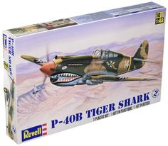Revell Monogram 1/48 P-40B Tiger Shark # 85-5209