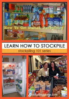 101 Series Want to save money at the grocery store? Check out our Stockpiling 101 SeriesWant to save money at the grocery store? Check out our Stockpiling 101 Series Save Money On Groceries, Ways To Save Money, Money Tips, Money Saving Tips, Groceries Budget, Couponing For Beginners, Couponing 101, Extreme Couponing, Survival Prepping
