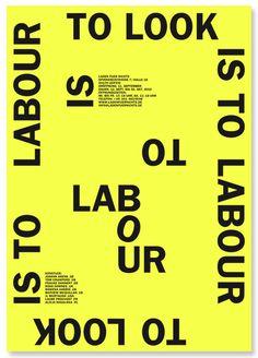 To look is to lobour — Tout va bien