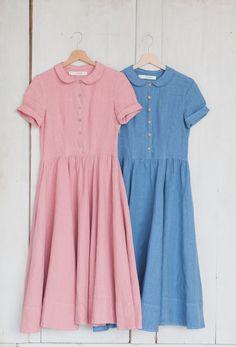 #pink #blue #dress #sondeflor