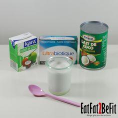 Recette Sucrée : Yaourt au lait de coco maison | EatFat2BeFit