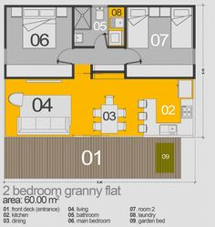 2 bedroom 2 bath cottage plans | want this plan includes concept e ...