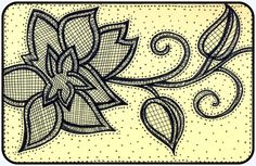 Zendoodle Thursday - Embroidered Flower | Mezzamay
