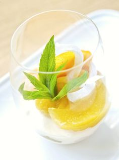 Dessert time: mango jelly, coconut custard & lime soaked lady fingers with fresh lychees..Sounds so Thai to me!