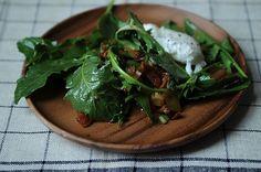 Dandelion Greens Salad , a recipe on Food52